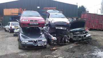 Scrap Cars Bought in Manchester